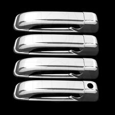 FOR JEEP GRAND CHEROKEE 2005-2010 CHROME 4 DOOR HANDLE COVERS w/oPSK 2008 2009