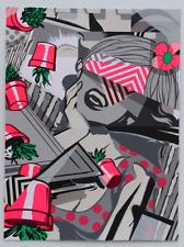 POSE (Jordan Nickel) TIDY Signed ScreenPrint - Beyond The Streets Artist PoseMSK