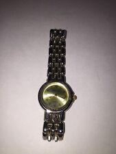 GENEVA Women's Two-Tone Watch Pre-Owned Non-Functional Battery Costume Jewelry