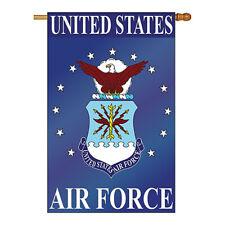 New listing Air Force - Applique Decorative House Flag - H108015-P2
