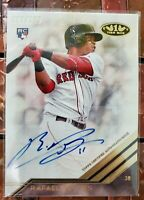 2018 Topps Tier One Rafael Devers RC Red Sox On-Card Auto #223/275!