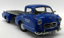 iScale 1/18 Scale - Mercedes Race Transporter 'The Blue Wonder' Diecast Truck #