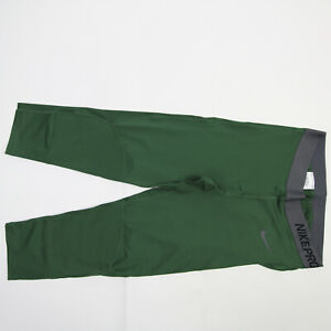 Nike Pro Dri-Fit Compression Pants Women's Dark Green New with Tags