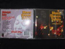 CD BLUES QUEEN SYLVIA / MIDNIGHT BABY / RARE /