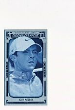 2015 Upper Deck Goodwin Champions Rory McIlroy Lady Luck Cloth Mini #126 (02/50)