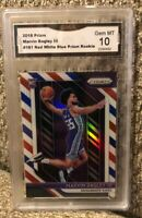 Marvin Bagley III 2018-19 Panini Prizm Red White Blue Prizm RC 10 GEM Mint