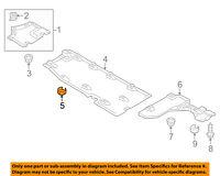 AUDI OEM 05-09 A8 Quattro Hood-Latch Lock Release Cable 4E0823543A