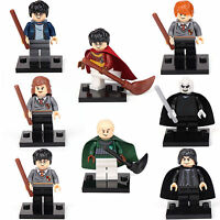 Harry Potter Ron Snap Hermione Malfoy 8 Minifigures Building bricks toys lEGO