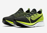 Nike Zoom Fly Flyknit Volt Black BV6103-002 Size 7-14 100% Authentic