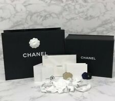 Brand New, Mint Authentic Chanel Magnetic Box Gift Set + Extras 13� x 10.5� x 5�