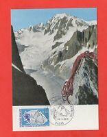 FDC 1974 - Centenaire du Club Alpin Français   (K516)
