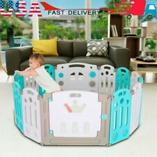 Home Outdoor Foldable Baby Playpen Kids Activity Centre Safety Play Yard Set