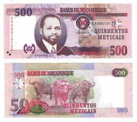 MOZAMBIQUE 500 Meticais (2011) P-153 EA Prefix aUNC Banknote Paper Money