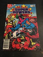 Super Powers#2 Incredible Conditikn 8.5(1984) Kirby Cover