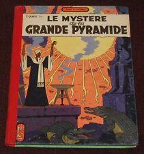 Blake et Mortimer -4- / Le Mystère de la Grande Pyramide - T2  / EO 1955 / BE