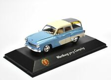 1:43 Atlas DDR Collection Wartburg 311-5 Camping blue/ white