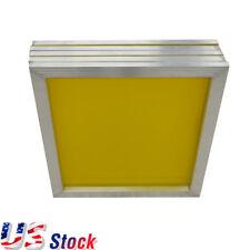 "6pcs 20"" x 24"" Aluminum Screen Printing Screens with 305 Yellow Mesh USA Stock"