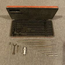 Starrett No124 2 8 Inside Micrometer Set Tool Maker Machinist Other