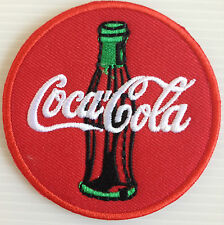 COCA - COLA Band Logo 7 x 7 cm. Iron On Patch Sew Embroidered Decorative clothes