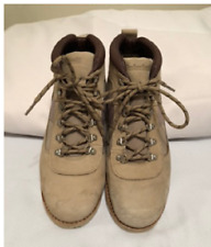 Stussy - Timberland Mens Sz 9M Goat Skin Deluxe X NM Field Boot Tan Color