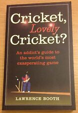 CRICKET LOVELY CRICKET Lawrence Booth Book (Paperback)