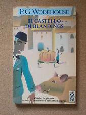 LIBRO Umorismo IL CASTELLO DI BLANDINGS P.G. Wodehouse 1995 Tea Tascabile