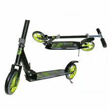Adrenalin Street Runner 200 Push Scooter - Black/Green