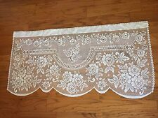 Heritage Lace Polyester White American Beauty Tier 60 x 30 Material Only (787)