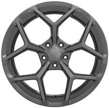 "20"" MRR Wheels Chevy Camaro ZL1 Gunmetal Z28 Rims RS SS 20x10 20x11 LS LT1 22"
