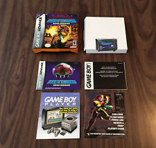Metroid Zero Mission (Game Boy Advance, GBA) Complete - Authentic