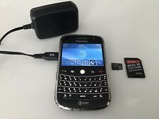 Blackberry Bold 9000 Black 3GB+4GB MicroSD(AT&T) Wi-Fi Bluetooth GPS Smartphone