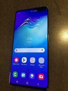 Samsung Galaxy S10 5G SM-G977B - 256GB - Majestic Black (Unlocked) (Single SIM)