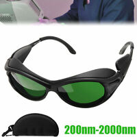 Picosecond Laser and UV Light Protection MCWlaser IPL Laser Glasses Eye Protection Safety Laser Goggles 200nm-2000nm for Hair Tattoo Removal