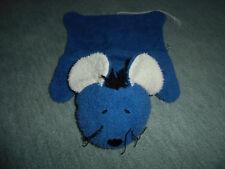 Jako o Wärmekissen Kirschkernkissen Bezug Wohlfühltier Schmusetier Maus Blau