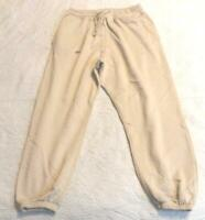 MIssguided Women's Petite Oversized 90s Joggers CD4 Beige Size US:10 UK:14 NWT