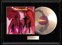 THE TEMPTATIONS CLOUD NINE  LP WHITE GOLD SILVER  PLATINUM TONE RECORD RARE