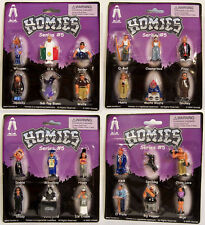 NEW Homies Series 5 Packages Blister Carded Packs COMPLETE Set GET ALL 24 RARE