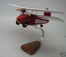 Flying Flea Mignet-Crosley Airplane Desktop Wood Model Big New