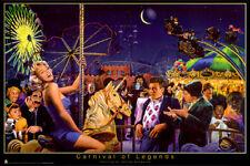 Carnival of Legends Marilyn Monroe Marx Bros. poster
