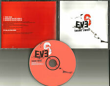 EVE 6 Think Twice 2003 USA PROMO Radio DJ CD Single RDJ52559 MINT