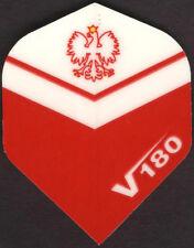 Crest of Poland V180 Dart Flights: 3 per set