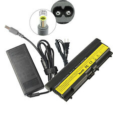 Battery+Charger for Lenovo Thinkpad T410 T420 T510 T520 SL410 SL510 Power Supply