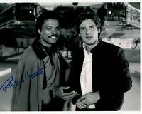BILLY DEE WILLIAMS signed Autogramm 20x25cm STAR WARS In Person autograph LANDO