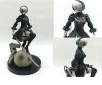Nier Automata 2B YoRHa No. 2 Model PVC 6'' Complete Figure Toy Statue Collection