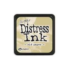 Tim Holtz Mini Distress Ink Pad OLD PAPER Beige Wheat, Manilla