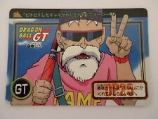 Carte DRAGON BALL GT Carddass Hondan DP GT Part 26 N°22 - BANDAI 1996 Jap