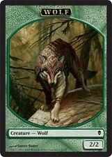 3x JETON Loup 2/2 - Wolf 2/2 MTG MAGIC Zen Ita