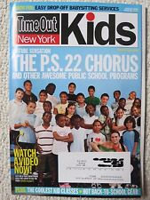 Time Out New York Kids Magazine 58 August 2010 P.S. 22 Chorus