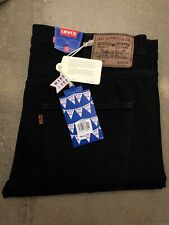 Levi's Vintage Clothing 1960'S 606 Slim Jeans - USA Made - Black Overdyed - LVC