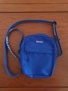 Supreme SS18 Shoulder Bag - Royal Blue